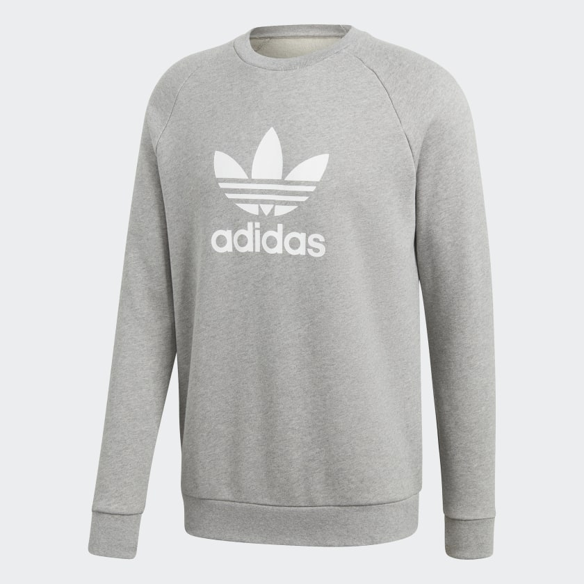 adidas Trefoil Warm Up Sweatshirt Braun   adidas Austria