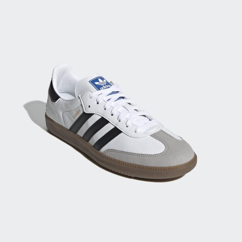 Adidas' White Vegan Samba Sneakers