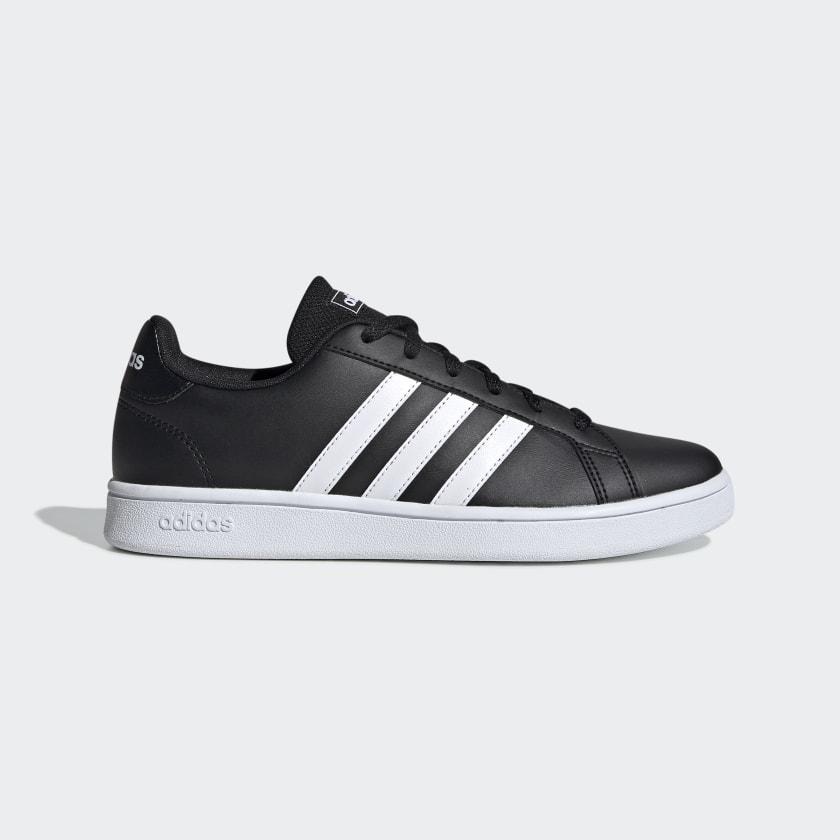 adidas Grand Court Base Shoes - Black