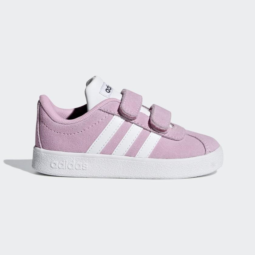 adidas VL Court 2.0 Ayakkabı - Pembe