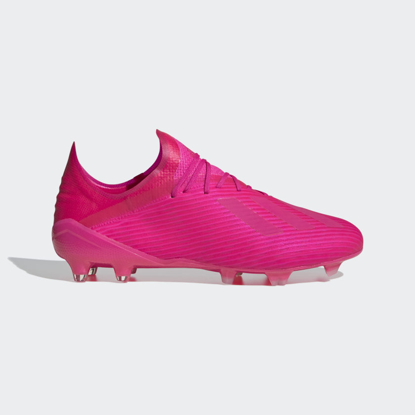 adidas X 19.1 Firm Ground Cleats - Pink