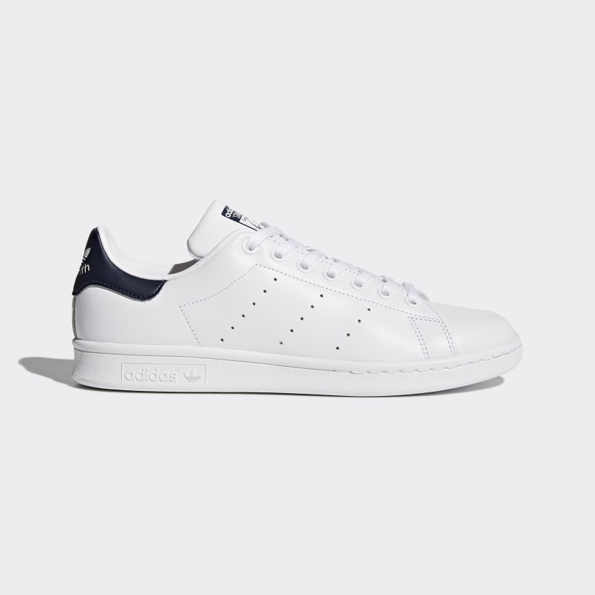 Subproducto Integrar Todos  Stan Smith Core White and Dark Blue Shoes | adidas US