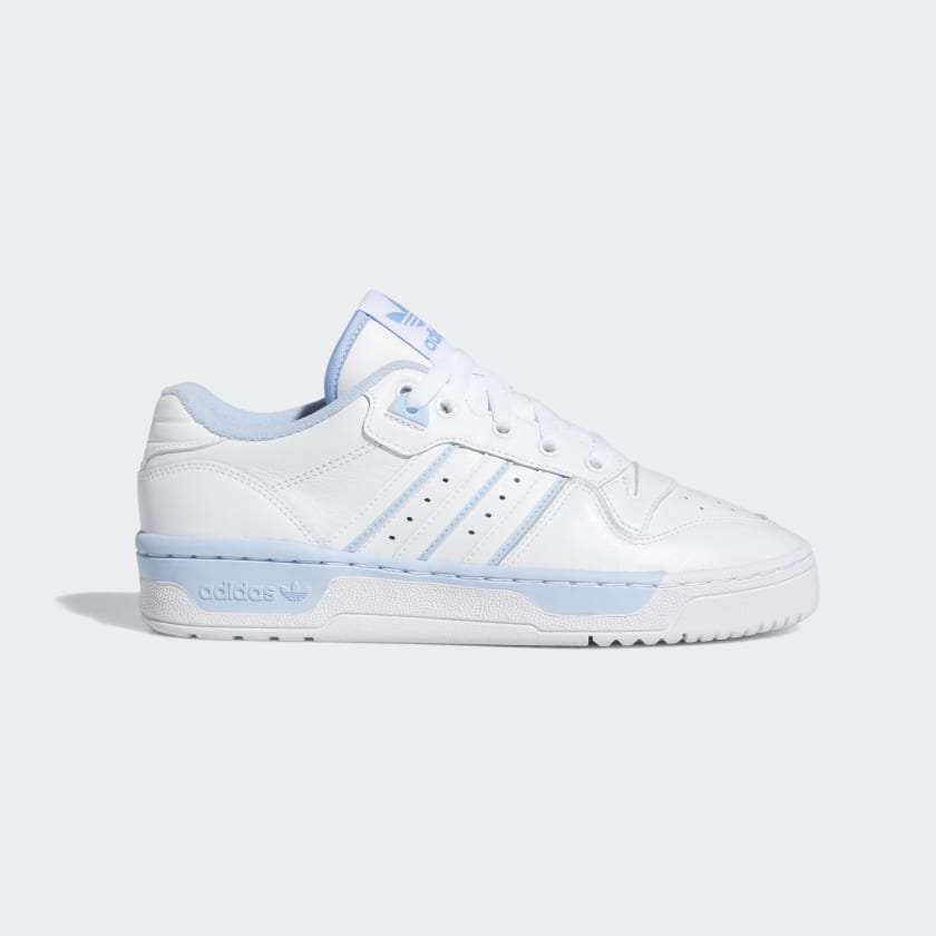 NEW ADIDAS RIVALRY RM LOW SHOES UNISEX MENS WOMENS EASY BLUE RUNNING WHITE GUM