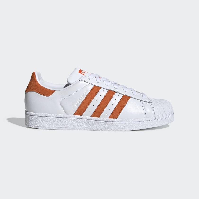 adidas superstar homme orange