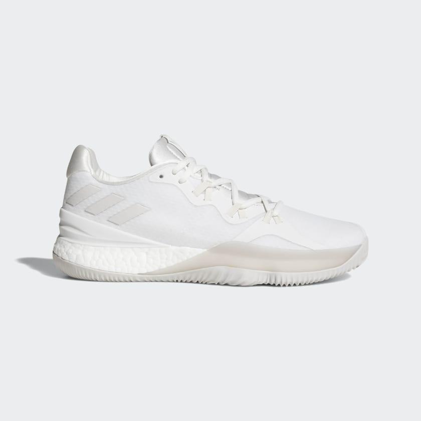 cangrejo Viva vistazo  adidas Crazylight Boost 2018 Shoes - White | adidas US