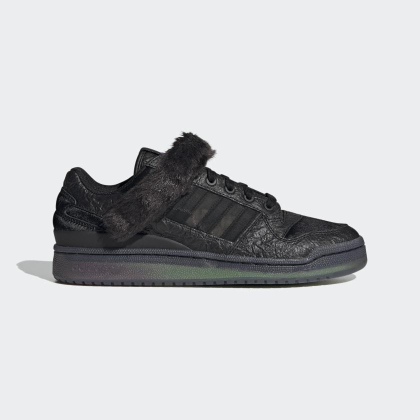 adidas Forum Low Shoes - Black | adidas
