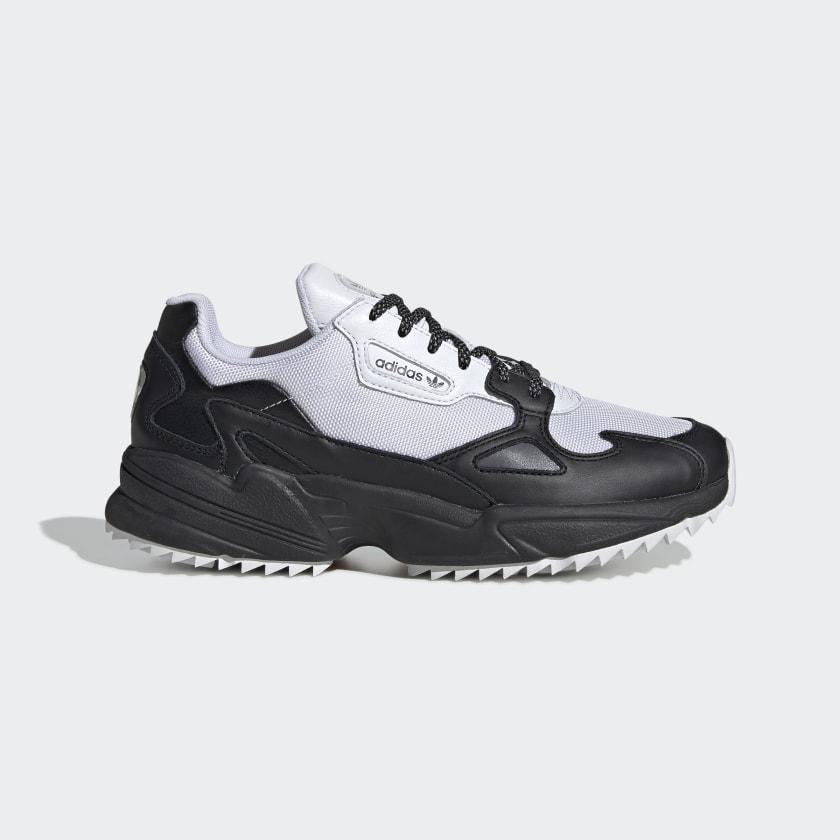 adidas Falcon Trail Shoes - White