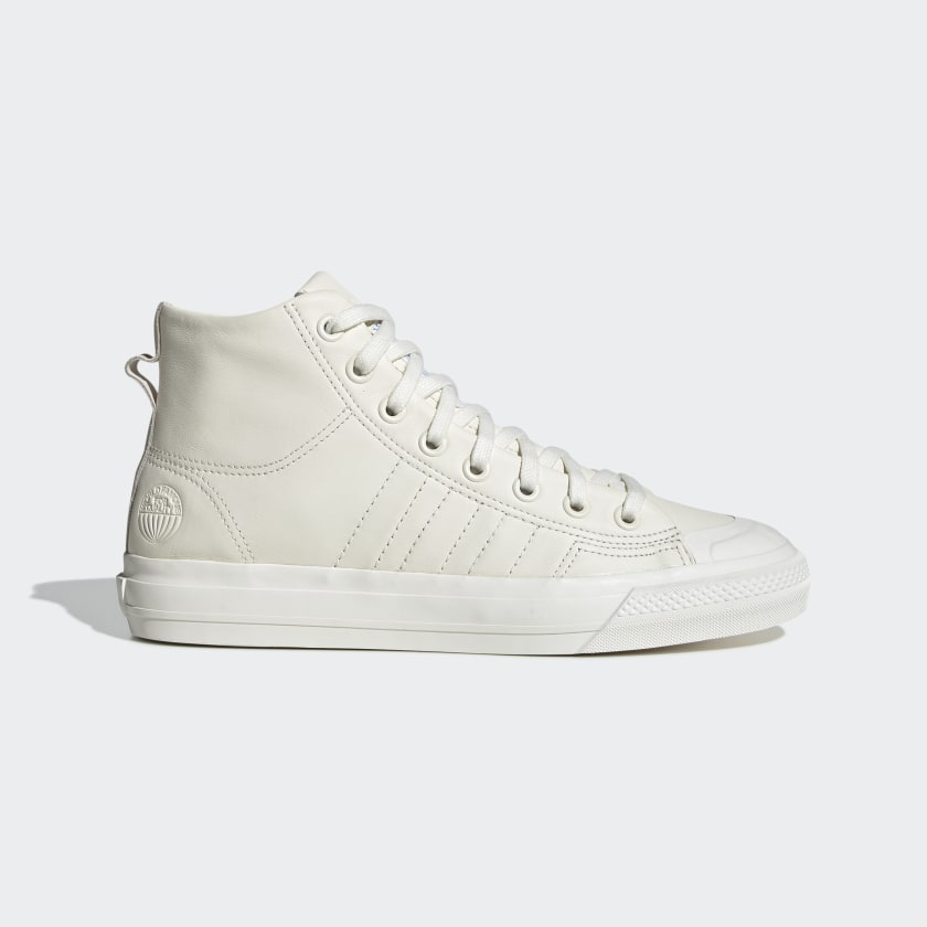 Nizza Hi RF Off White Leather Shoes