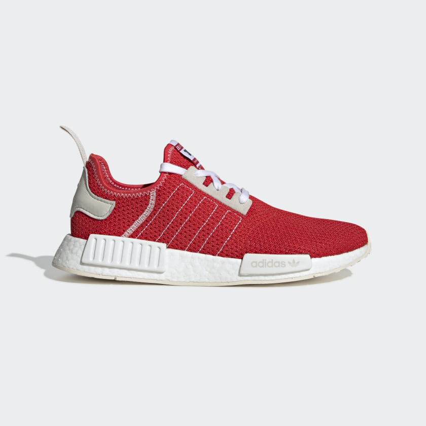 NMD R1 Red and Cream Shoes | adidas