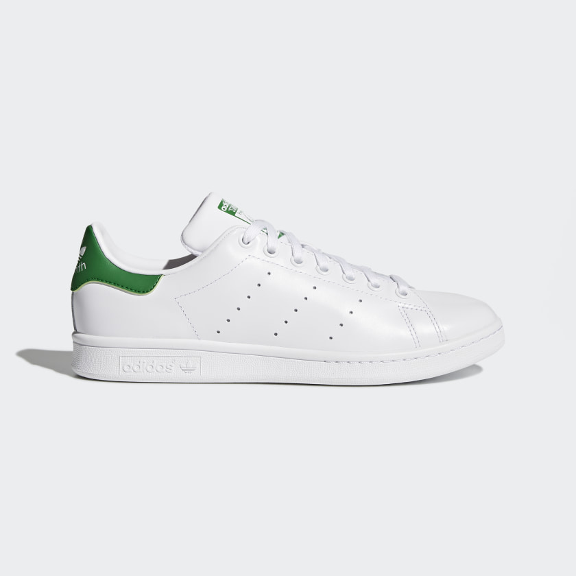 Nuclear Separar juntos  Stan Smith White & Green Tennis Shoes | adidas US