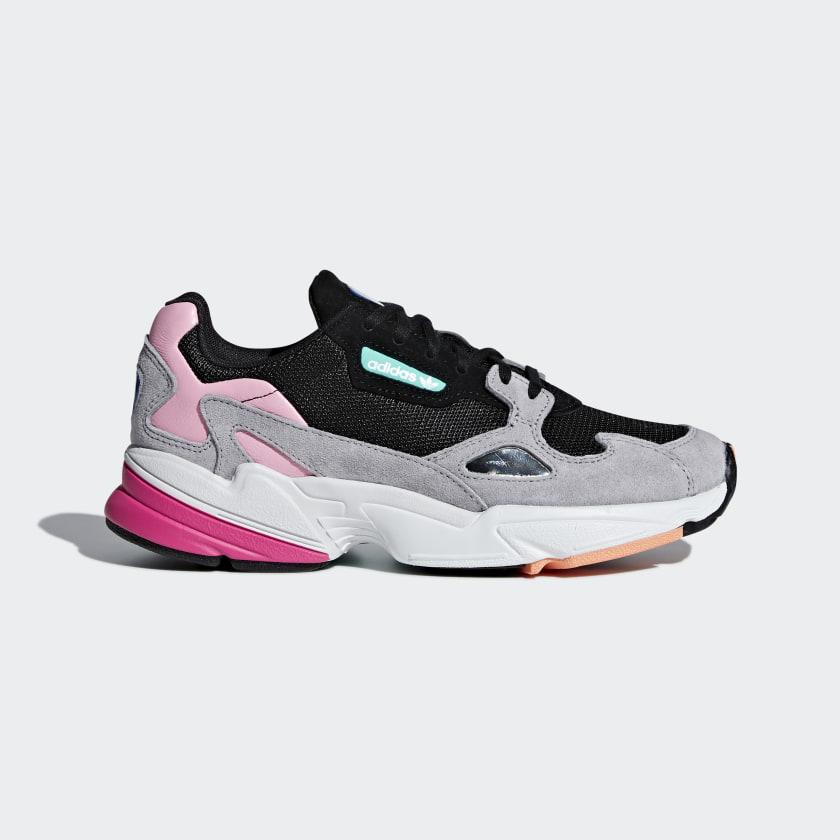 adidas Falcon Shoes - Black | adidas UK