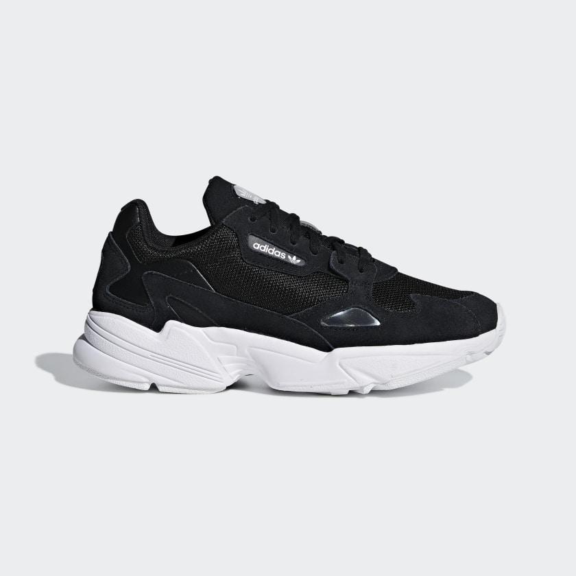 adidas Falcon Shoes - Black | adidas US