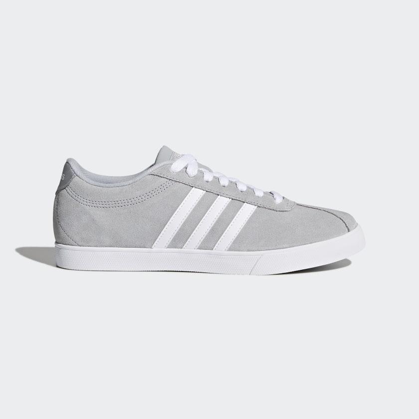 adidas Courtset Shoes - Grey | adidas US