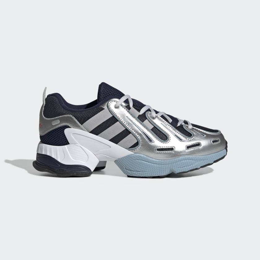 EQT Gazelle Navy Blue, Grey and Silver