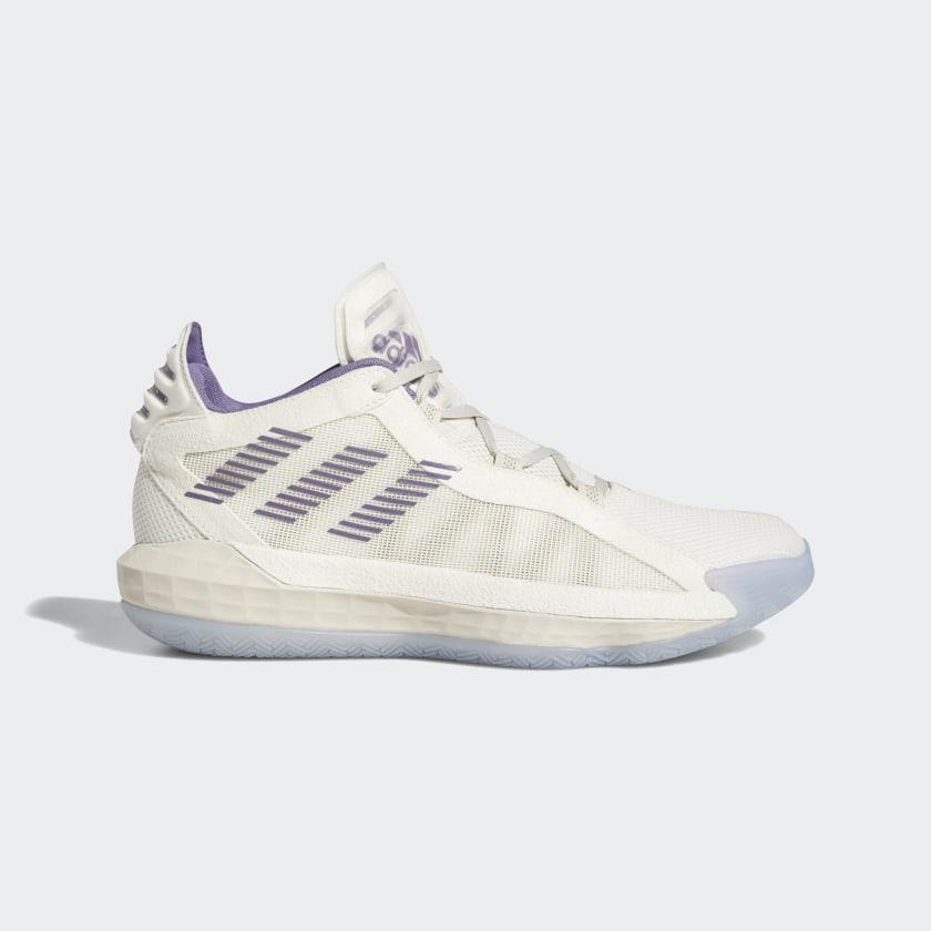 adidas Dame 6 Shoes - White | adidas US