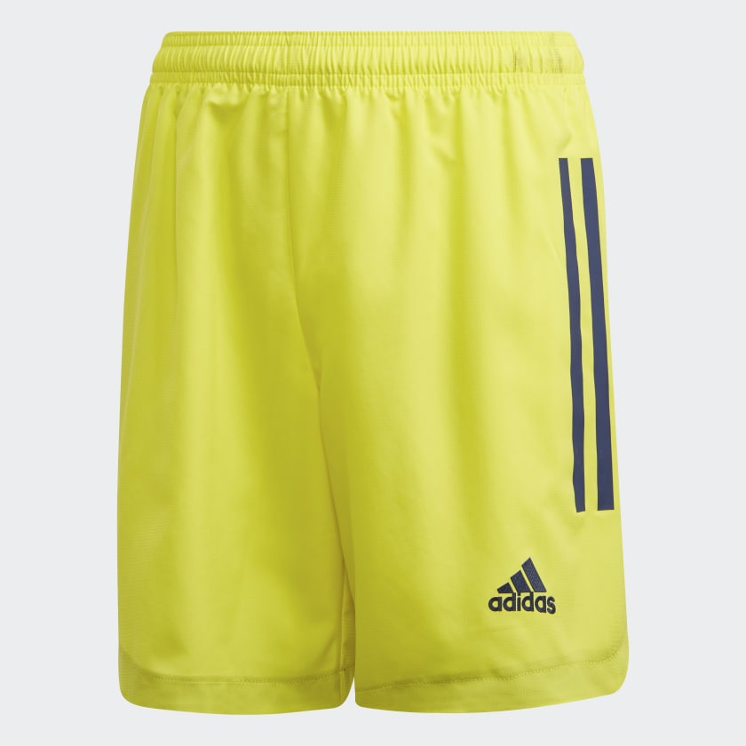 Vichy-Clermont Official Home 2018-2019 Basketball Shorts yellow SHORTDOMVIC unisex