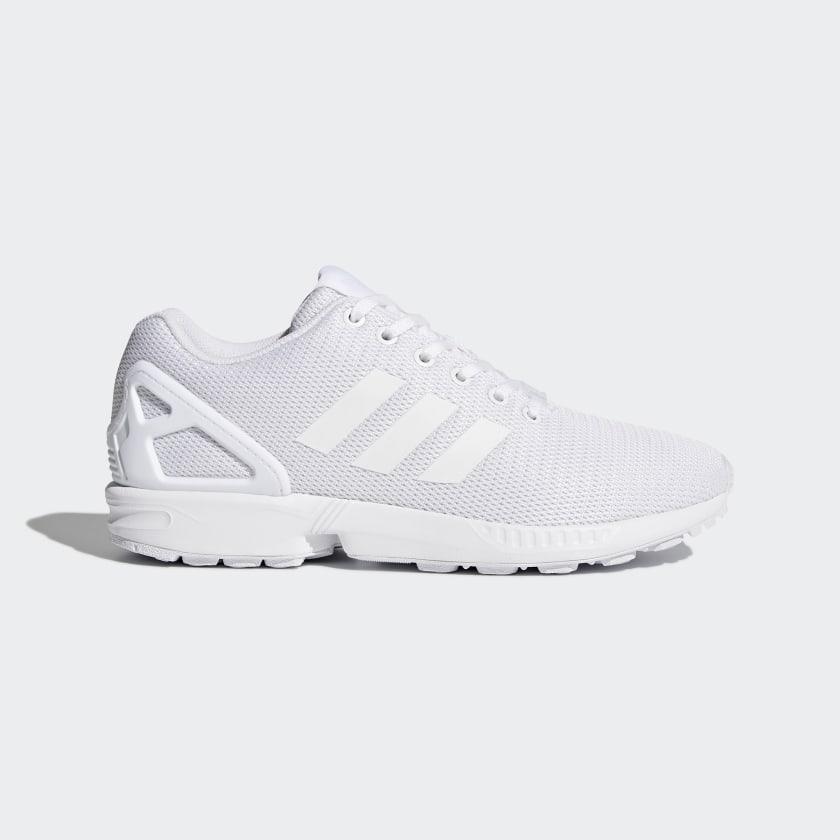 Tren Sobrevivir corto  adidas ZX Flux Shoes - White | adidas US