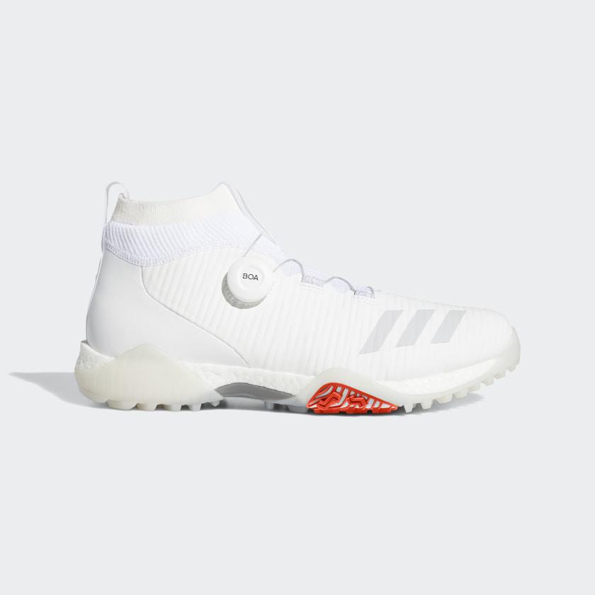 adidas CodeChaos Boa Golf Shoes - White | adidas Singapore