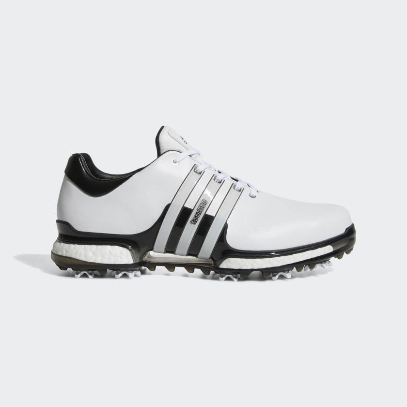 adidas Tour 360 Boost 2.0 Shoes - White   adidas US