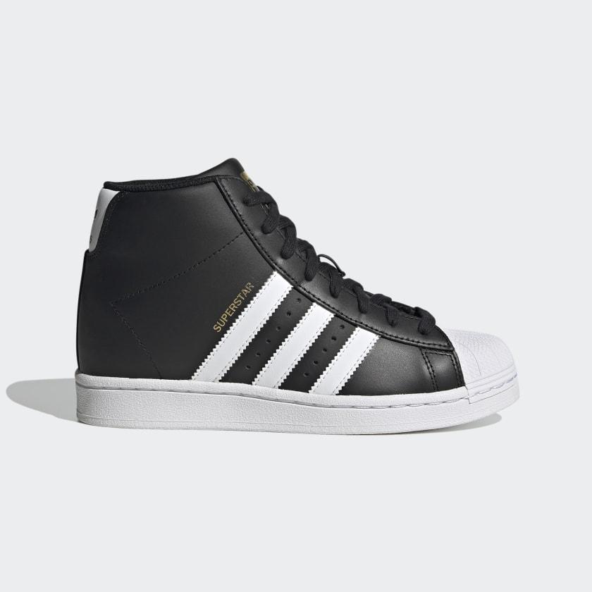 Equipar Horno Cerveza  adidas Superstar Up Shoes - Black | adidas US