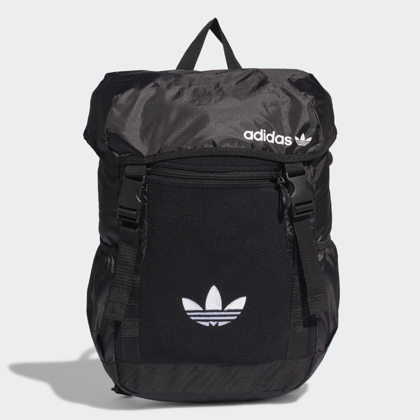 adidas Premium Essentials Toploader Backpack - Black ...