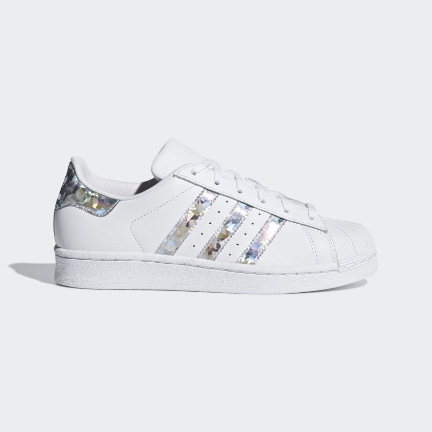 Silver Iridescent Shoes | adidas