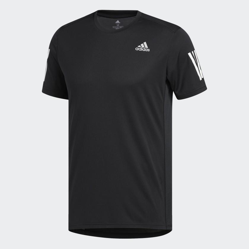 adidas FreeLift 3 Streifen T Shirt Schwarz | adidas Austria