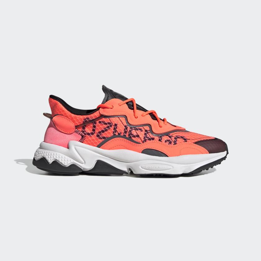 adidas OZWEEGO Shoes - Orange   adidas UK