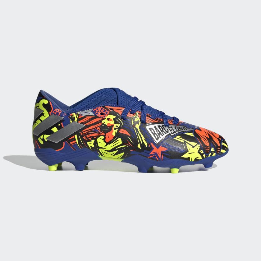Frustración Implacable Perth Blackborough  adidas Calzado de Fútbol Nemeziz Messi 19.3 Terreno Firme - Azul   adidas  Mexico