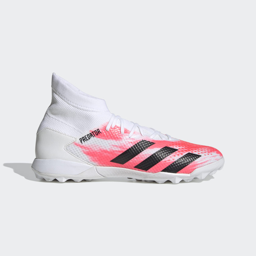 adidas Predator 20.3 Turf Boots - White