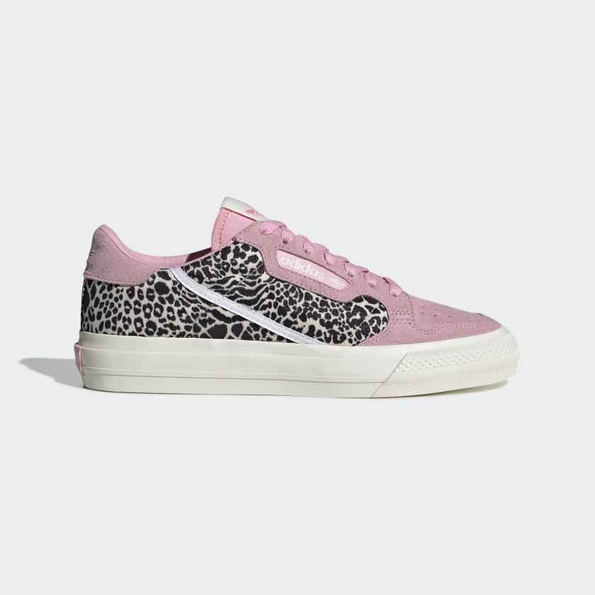 adidas Continental Vulc Shoes - Pink