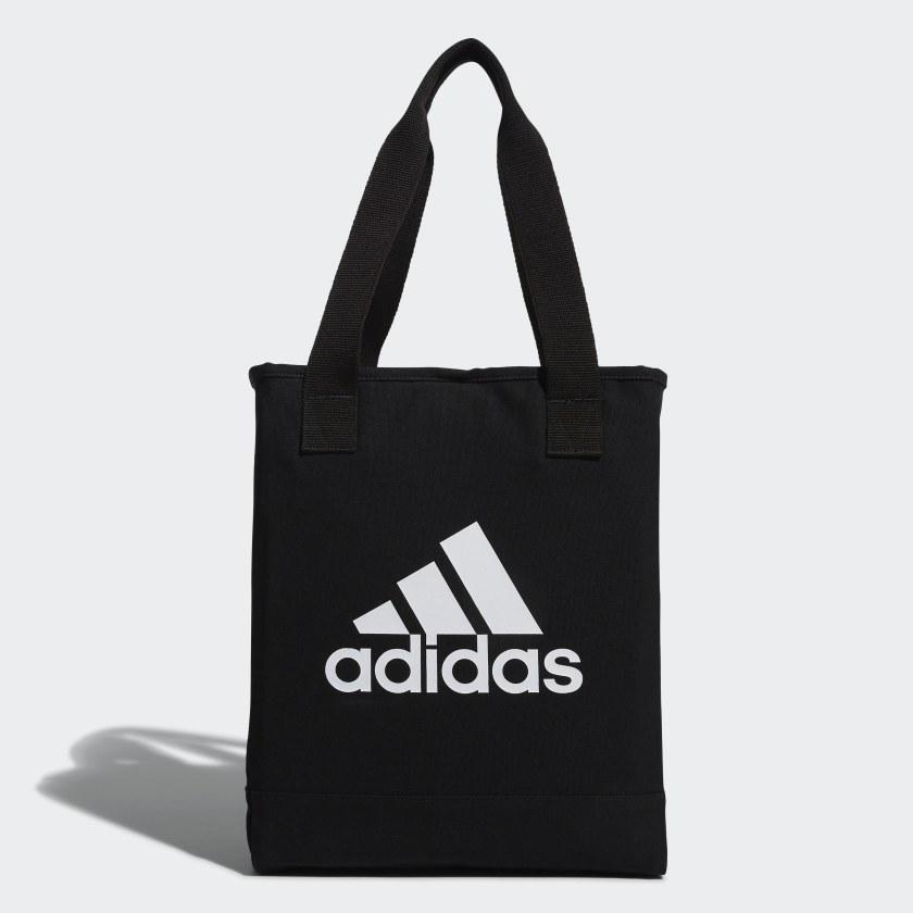 adidas Canvas Per Tote Bag - Black