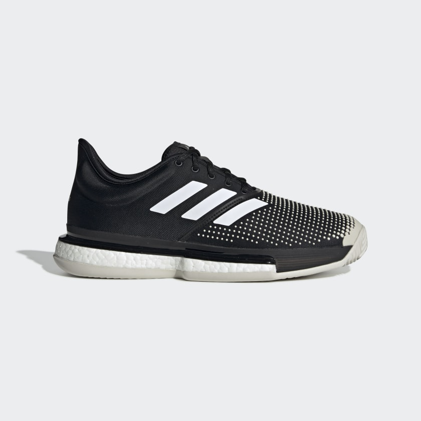 adidas SoleCourt Clay Shoes - Black