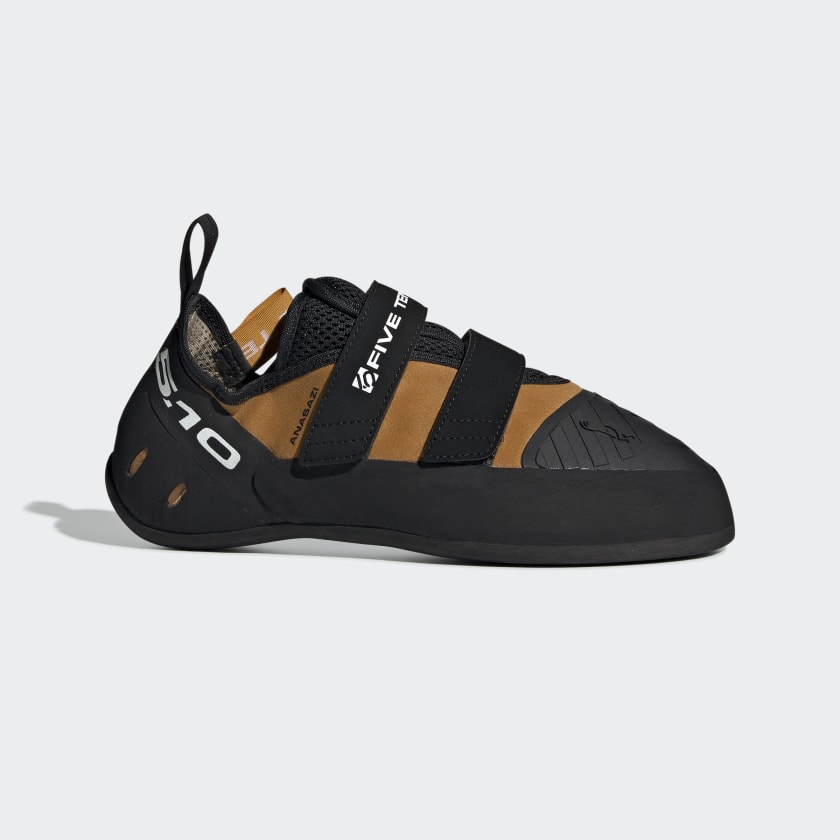 Five Ten Anasazi Pro Men's Climbing Shoes (Spice Orange/black)
