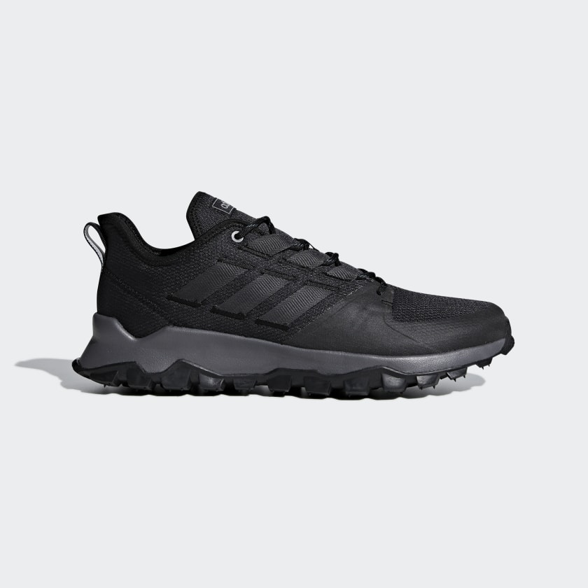 hilo estoy enfermo Decimal  adidas Kanadia Trail Shoes - Black | adidas US