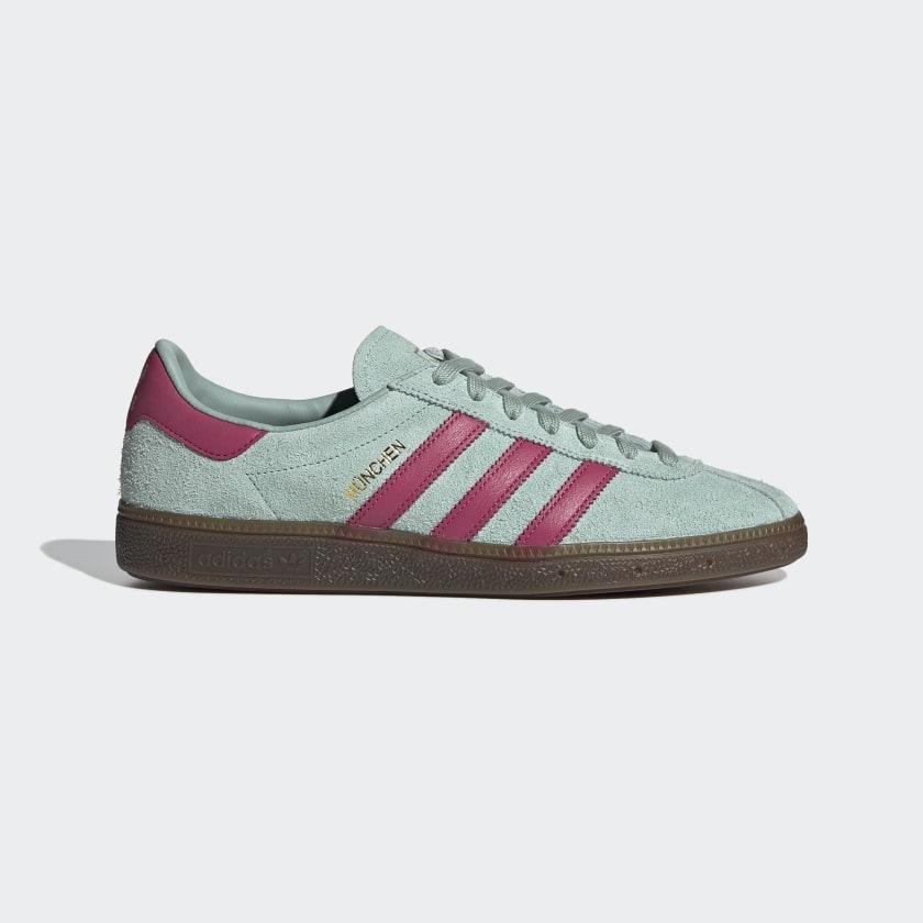 adidas München Shoes - Green | adidas UK