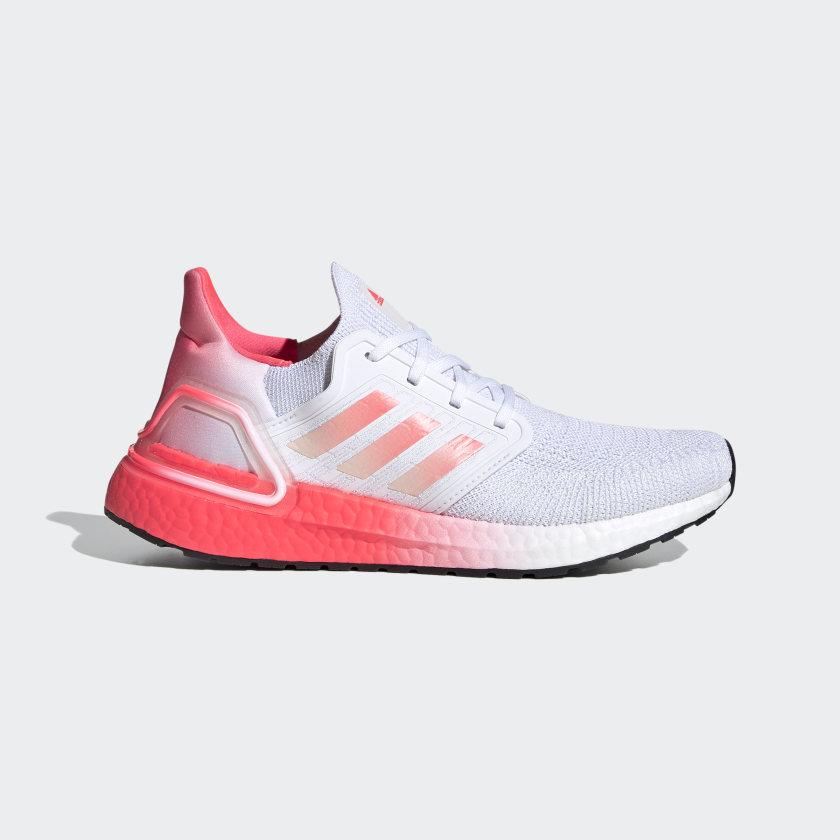 adidas running shoes white