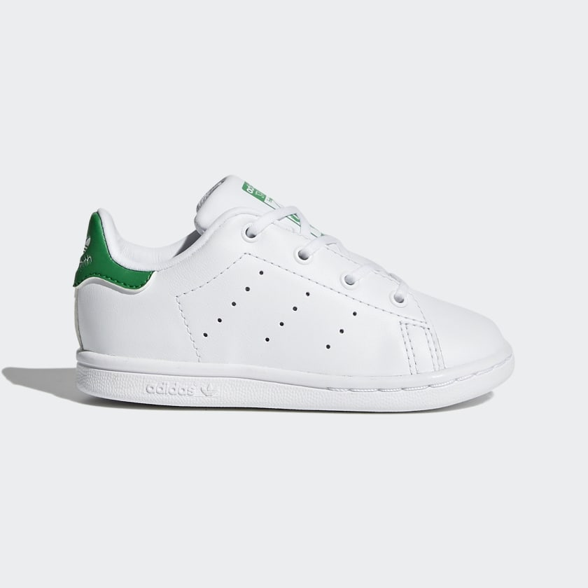 negativo frío toca el piano  Toddler Stan Smith Cloud White and Green Shoes | adidas US