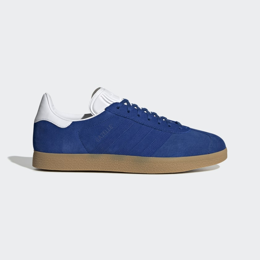 Patatas Alfabeto Chaleco  Gazelle Royal Blue and Cloud White Shoes | adidas US