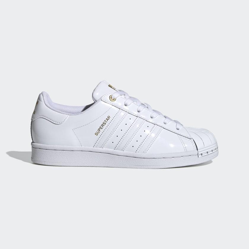 bobina Buena voluntad Persuasivo  adidas Superstar Metal Toe Shoes - White | adidas US