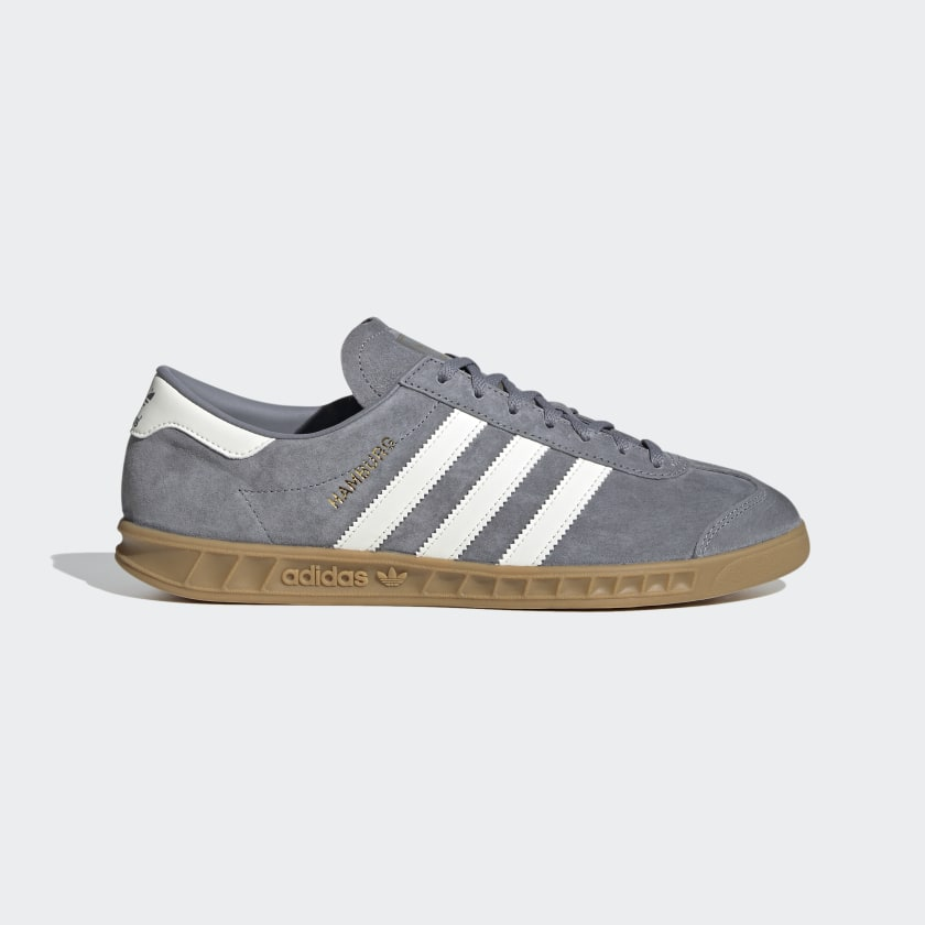 Maquinilla de afeitar caballo de Troya administración  adidas Hamburg Shoes - Grey | adidas UK