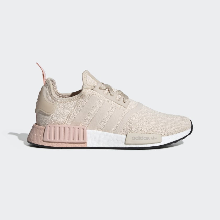 tan and pink adidas nmd cheap online