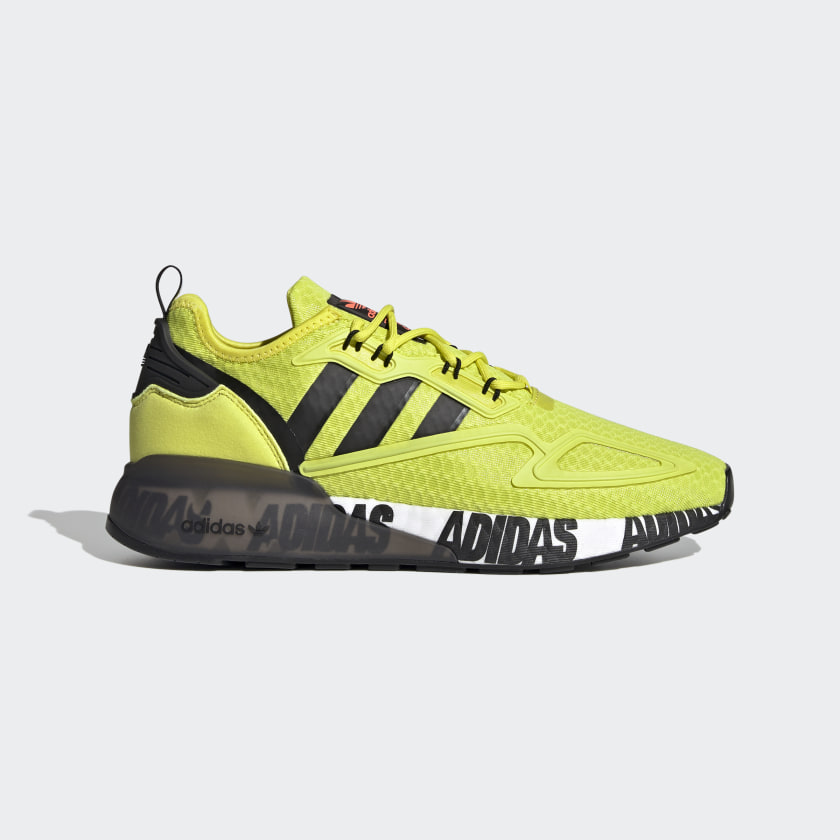 adidas ZX 2K Boost Shoes - Yellow | adidas US