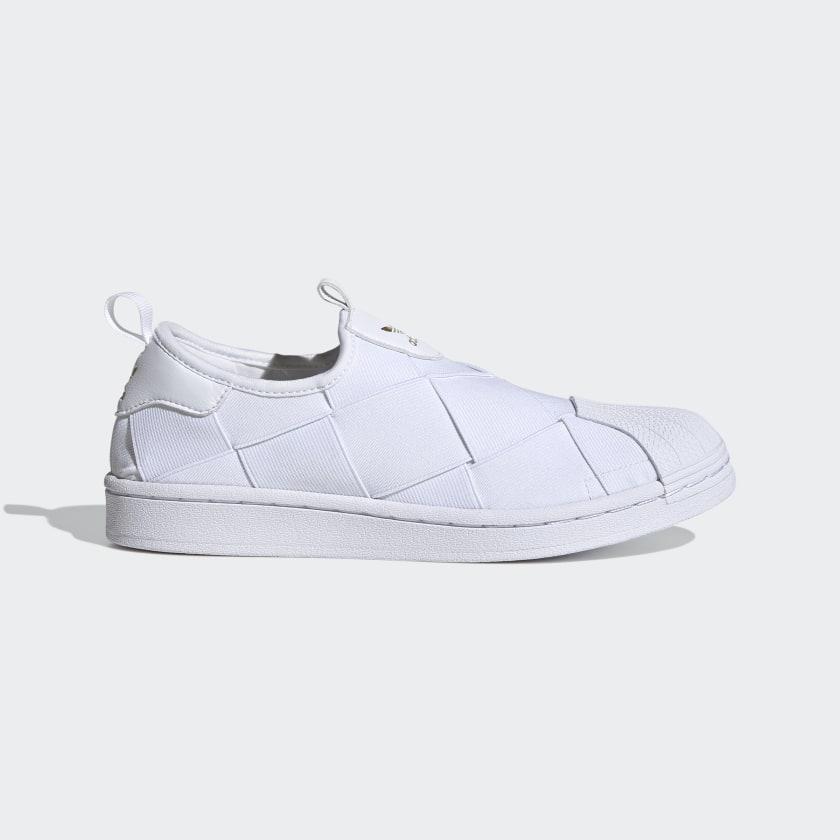 adidas Superstar Slip-on Shoes - White | adidas US