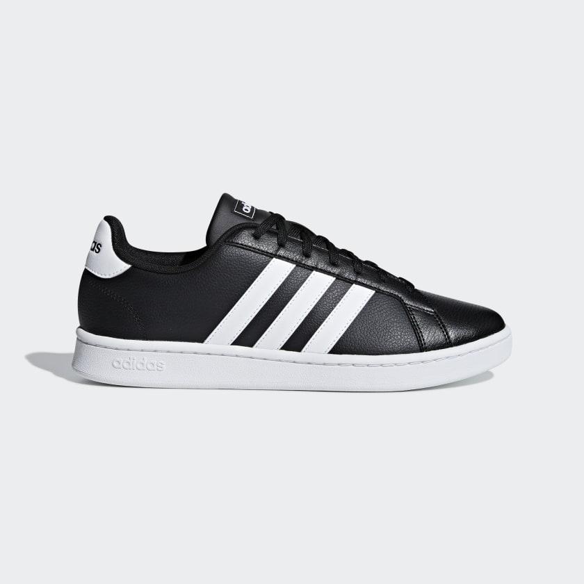 adidas Grand Court Shoes - Black