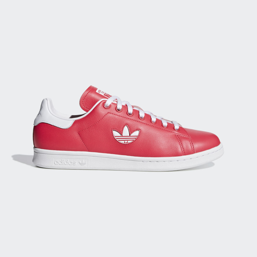 Men's Stan Smith Shock Red and Cloud