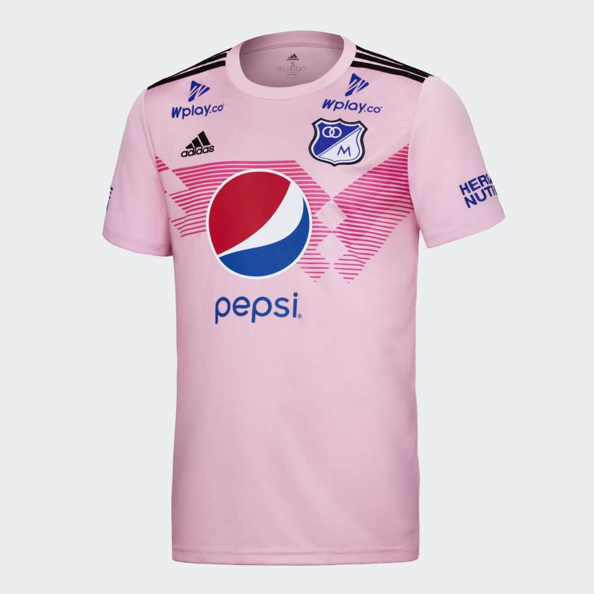 templo Niños Desalentar  adidas Camiseta Millonarios adidas 70 años - Rosa | adidas Colombia