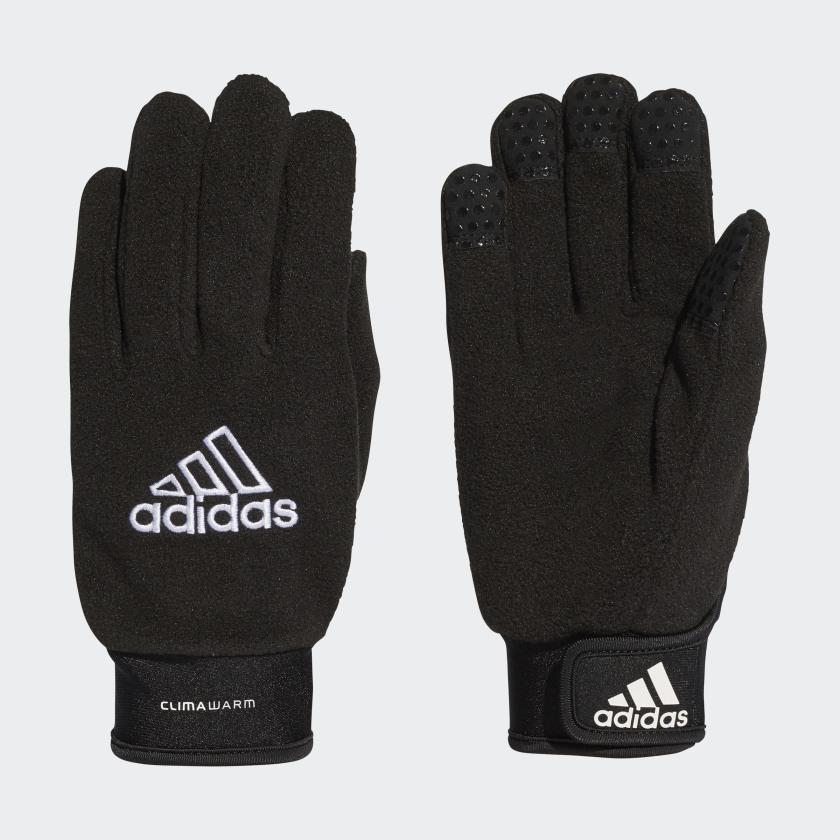 VfL Wolfsburg Handschuhe schwarz//fleece M