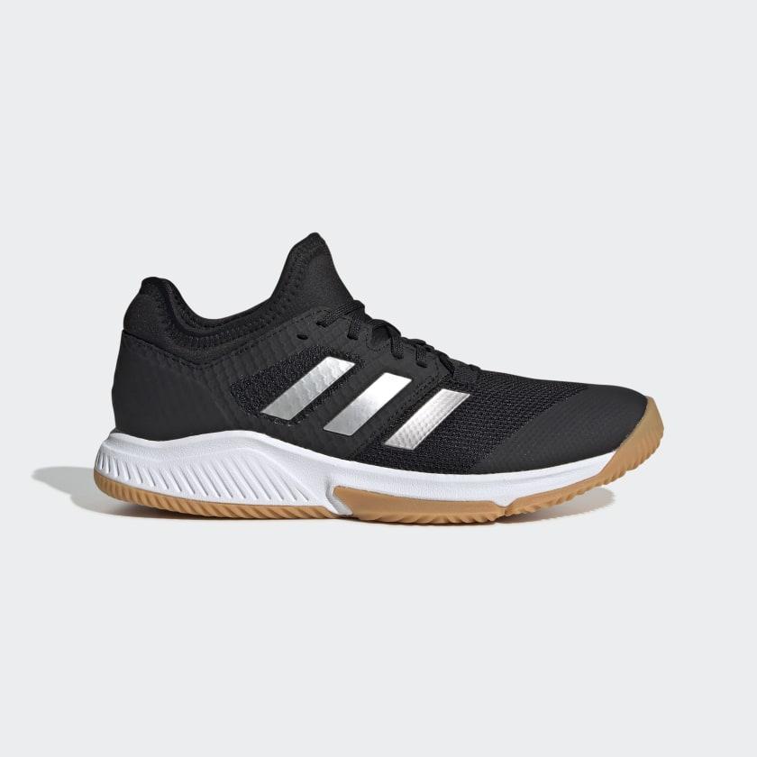 adidas Court Team Bounce Shoes - Black   adidas US