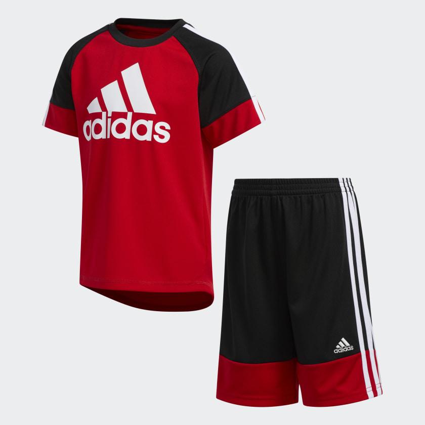 adidas I Sport Sum Set Ch/ándal Beb/é-Ni/ños